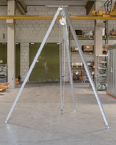 Portiques de levage - Trépied en aluminium type D-ALU