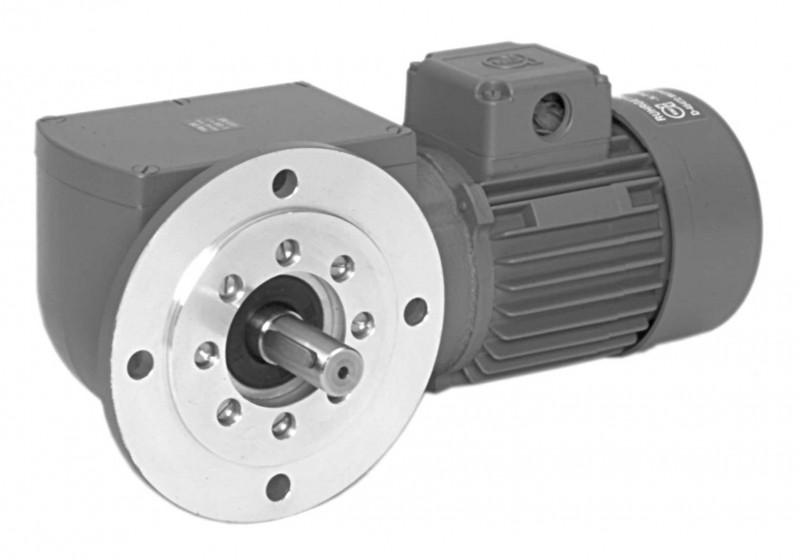 SN13F - Two-stage gear drive with solid shaft