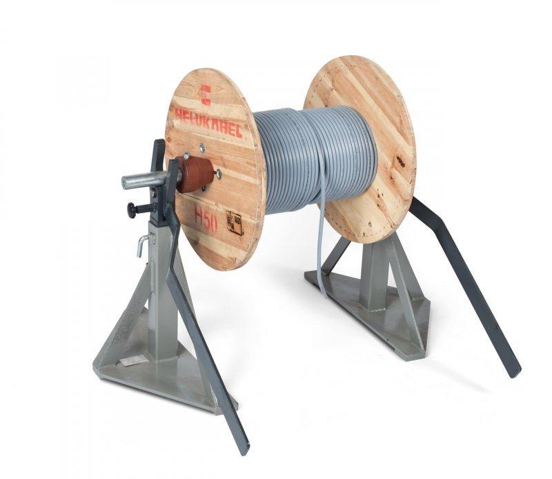 TROMBOI 7-10 Trommelabwickler, Abwickler manuell - Trommelabwickler bis Ø 1000mm und Trommelgewicht max. 1000 kg