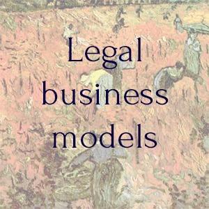 Development of legal models for business -