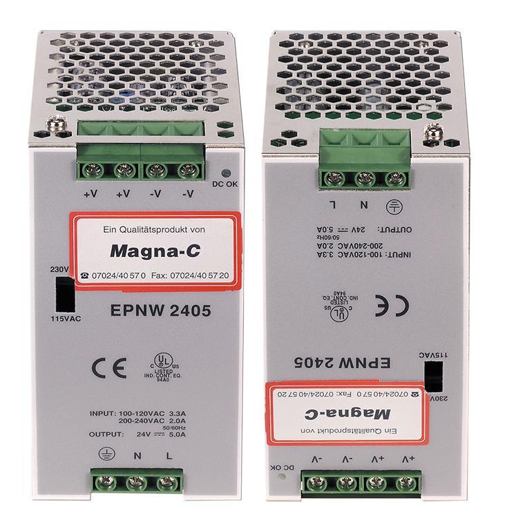 24 V DC Power-Netzanschluß - null