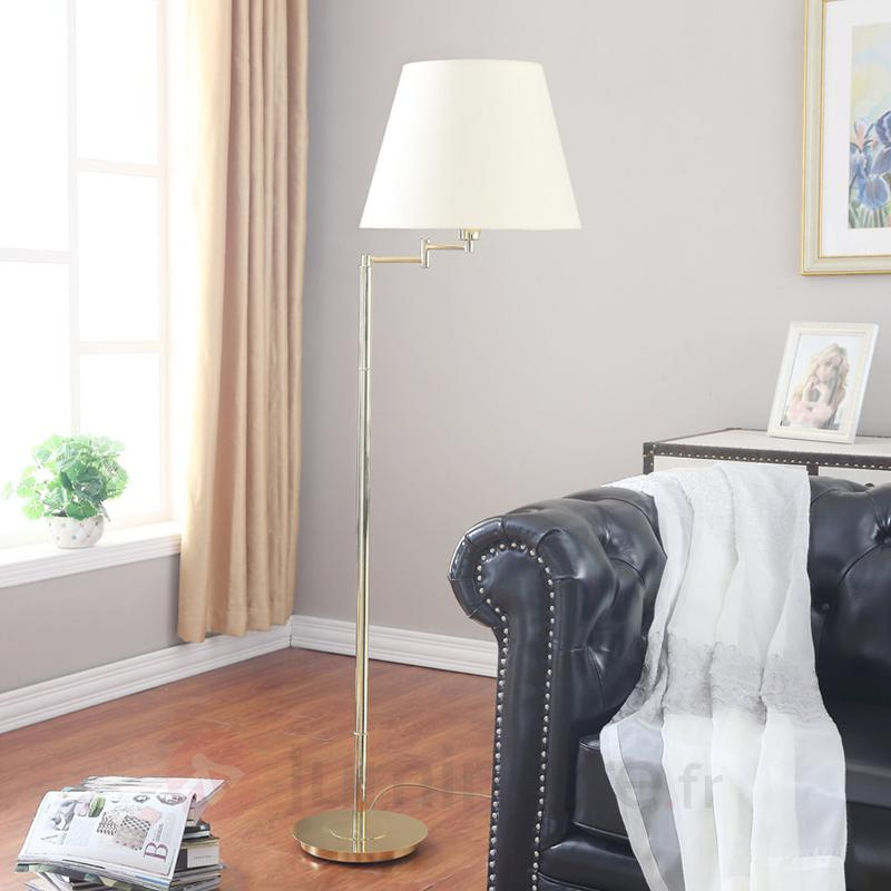Pola - Lampadaire aspect classique - Lampadaires en tissu