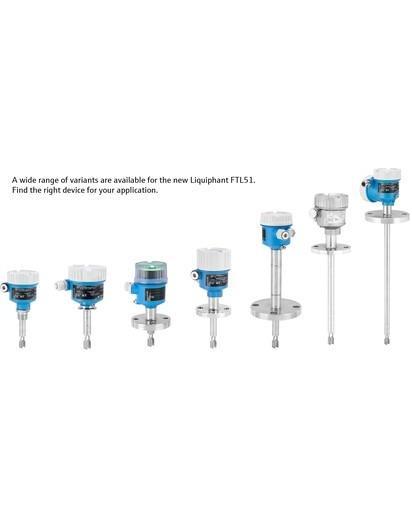 El nuevo equipo Liquiphant FTL51 - digital, simple y seguro - Switch de detección de nivel con IIoT para aplicaciones con todos los líquidos