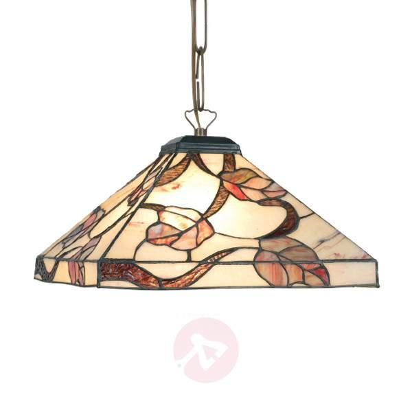 Appolonia hanging light, Tiffany-style - Pendant Lighting