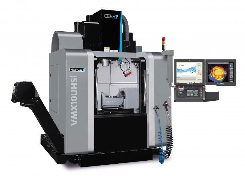 5-Achs-BAZ - VM 10 UHSi Plus - Konkurrenzlos leistungsstark und schnell-für die Bearbeitung mittelgroßer Teile.
