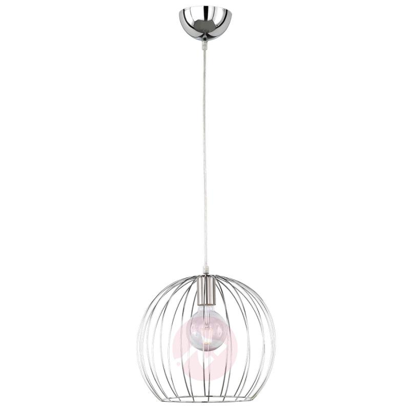 With decorative cage - Evian hanging light - indoor-lighting