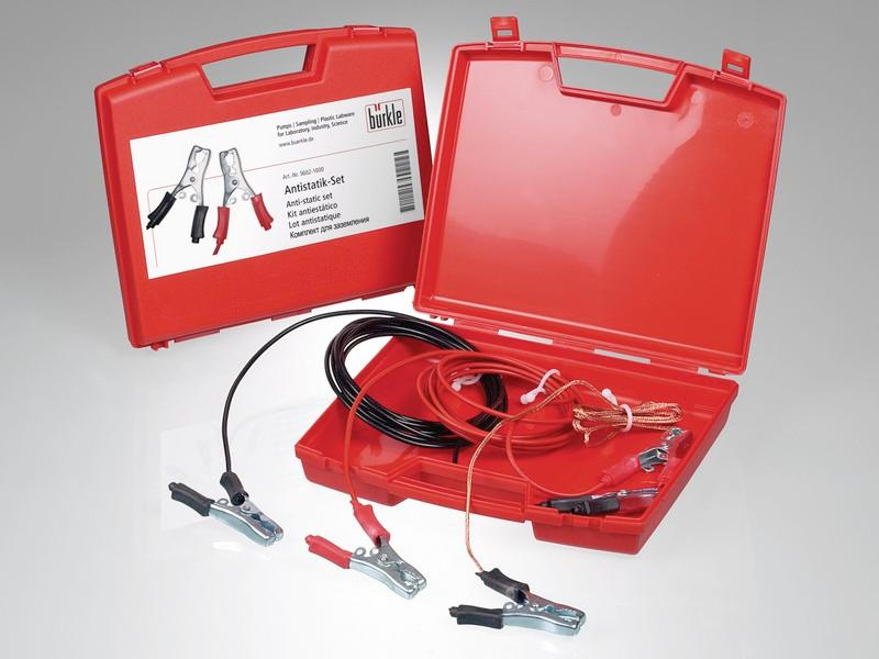 Anti-static set - Accessorie for pumps, easy and reliable earthing