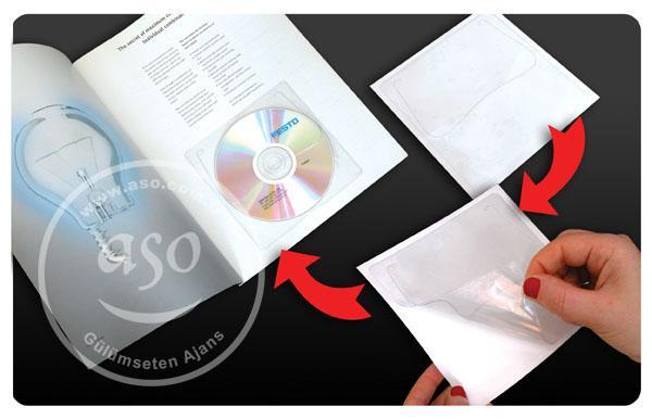 Yapışkanlı CD Zarfı