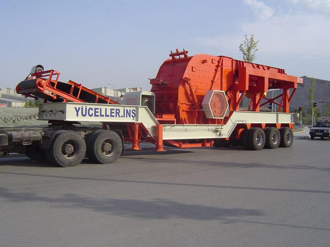 Mobile Primary Crushing Units With Impact Crusher - null