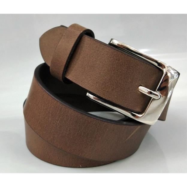 Leather grain belt  - Leather grain belt for men