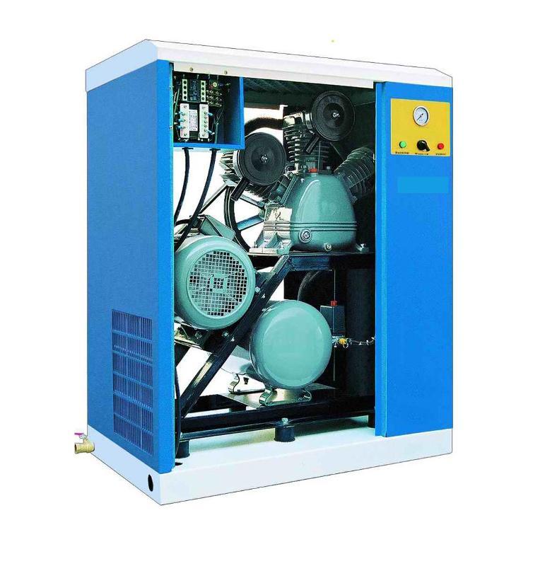 Persluchttechniek - Geluidsarme compressoren - Geluidsarme compressoren