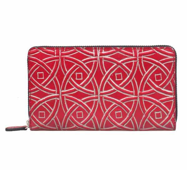 Women wallet bilfold - Size:19x11 cm