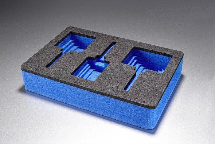 Schaumstoffeinlagen für Koffer, Kartons, Kisten, Etuis - null