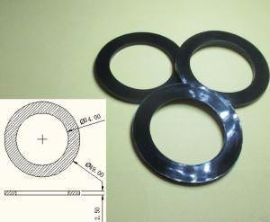 silicone rubber gasket - customize silicone rubber food grade gasket for water bottle