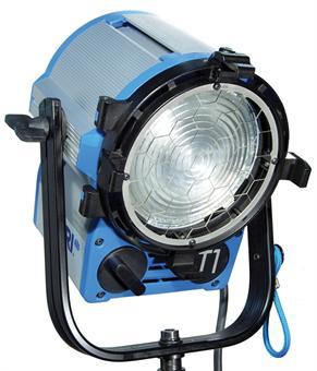 Halogen spotlights - ARRI True Blue T1 MAN blue/silver, with Schuko