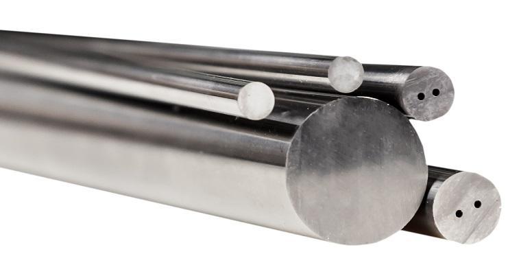 Цельные твердосплавные стержни  - Производим цельные твердосплавные стержни для производства свёрл, токарных фрез,