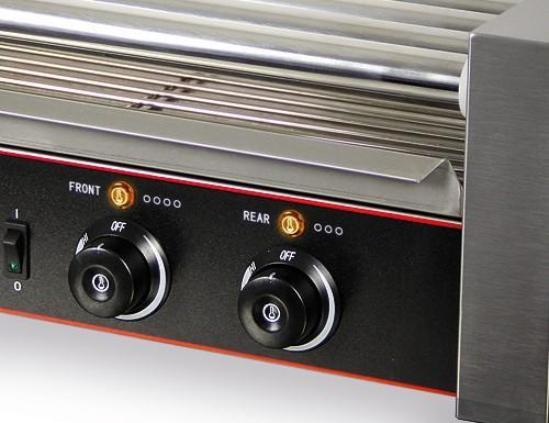 Hot Dog - Hot Dog Grill with 9 rollers