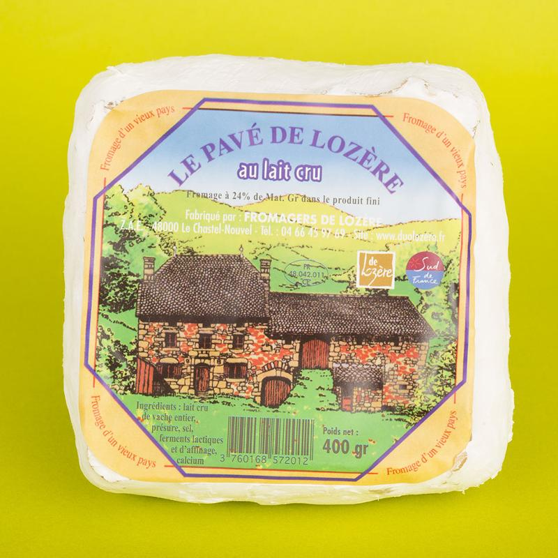 Le Pavé de Lozère 400G - Produits laitiers