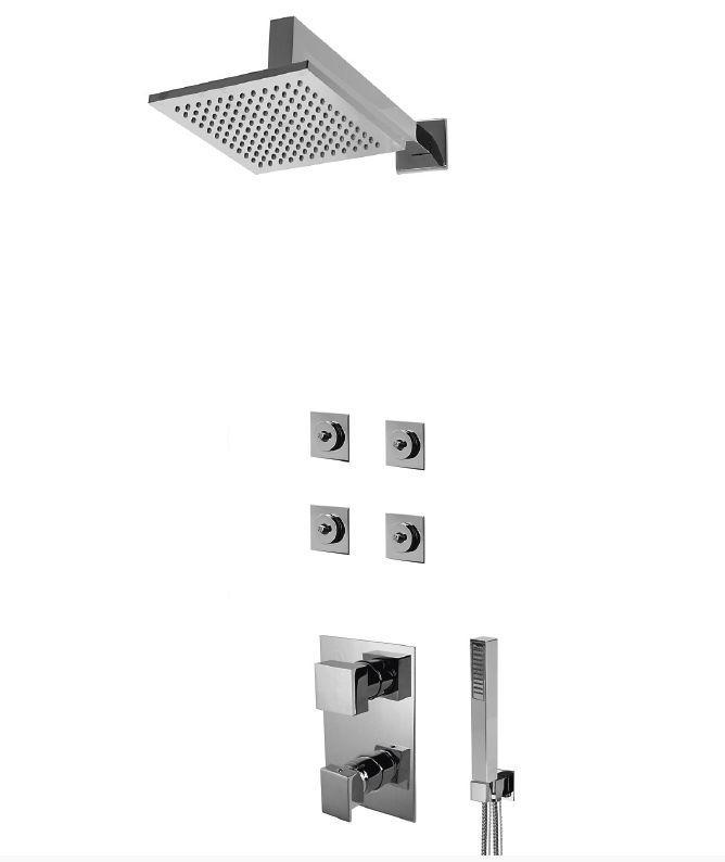 Sistema de duche embutido 3 funções - SAN015-1