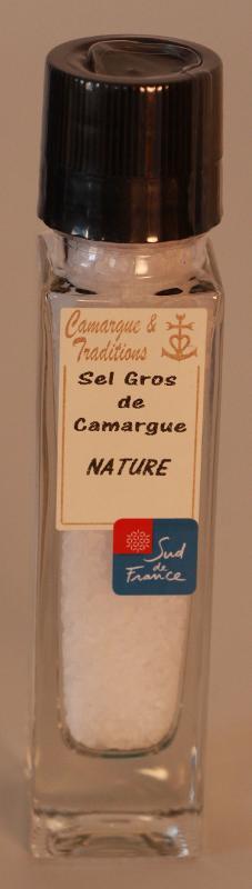 MOULIN RECHARGEABLE - SEL GROS DE CAMARGUE - NATURE - Epicerie salée