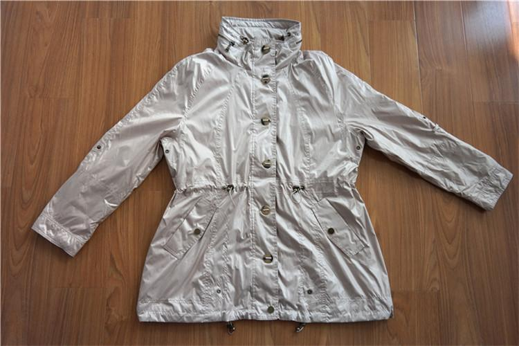 Women's wind coat of memory cloth - YH16-14-WC