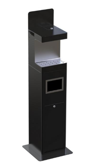 AUTOMATIC HAND SANITIZER DISPENSER WITH STAND - DISINFECTION DEVICES