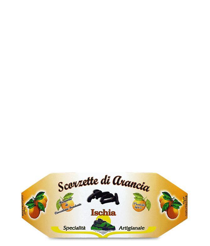 Scorzette di arancia con cioccolato - Scorzette
