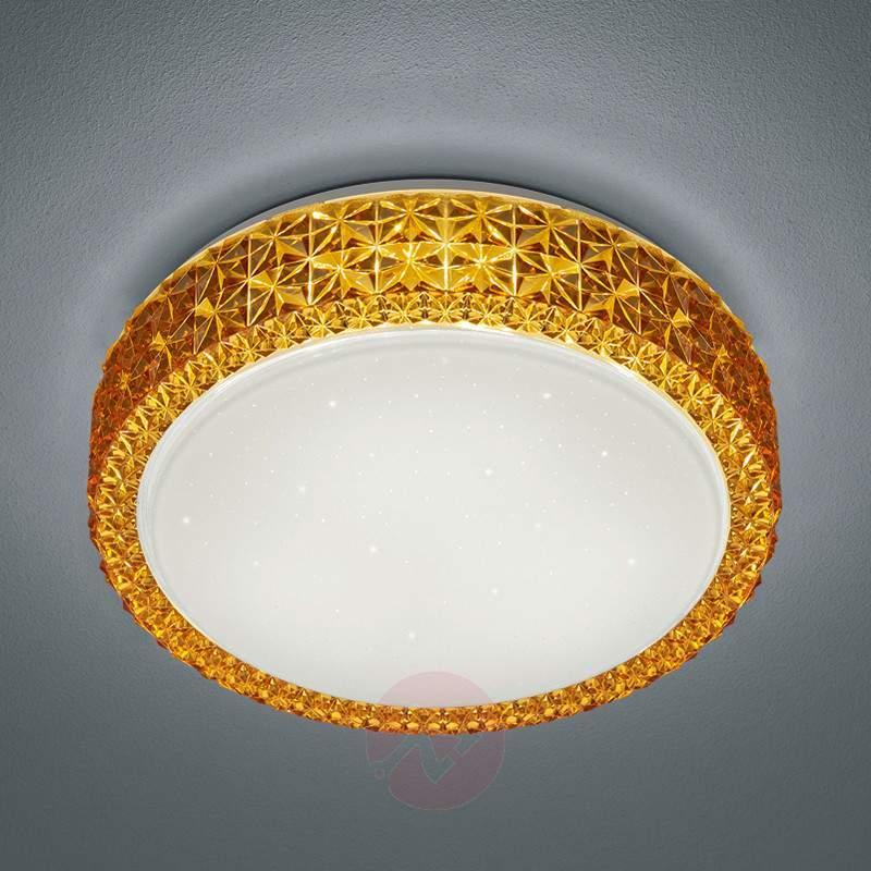 Sparkling Dela LED ceiling light - Ceiling Lights
