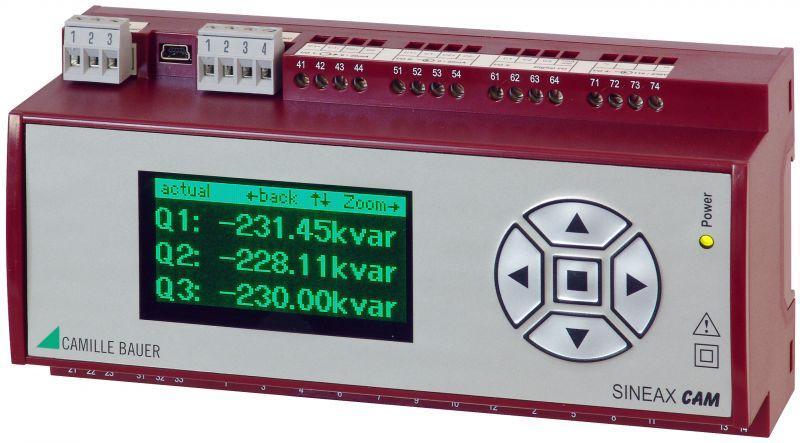 SINEAX CAM - Pour l'analyse globale d'un réseau à courant fort quelconque.
