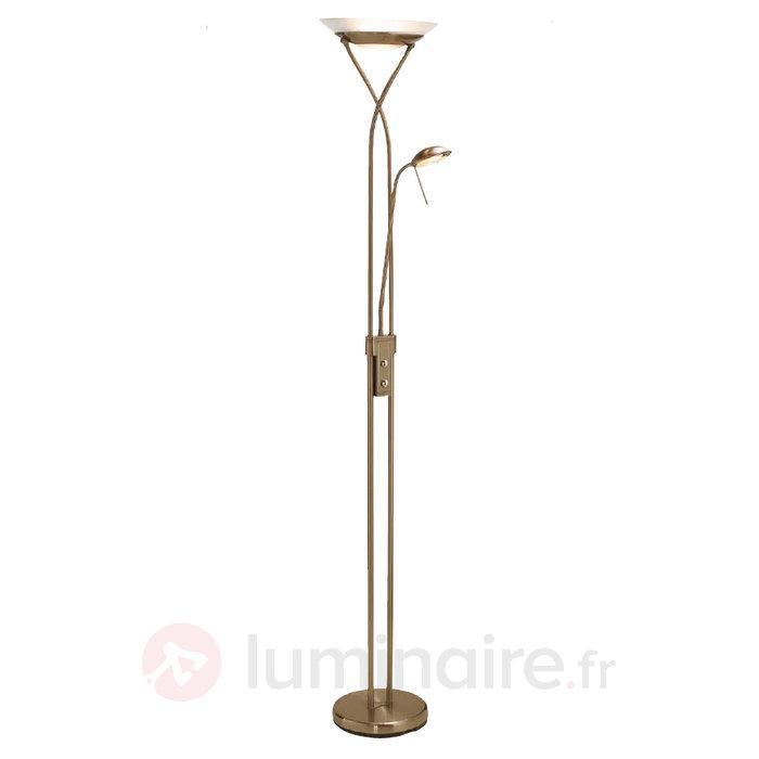 Lampadaire à 2 lampes BOSTON - Lampadaires à éclairage indirect