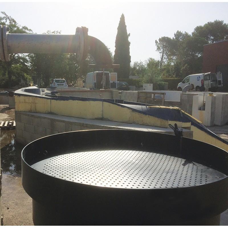 Filtre Haut Débit Pour Eaux Polluées Aux Hydrocarbures - Captation des hydrocarbures