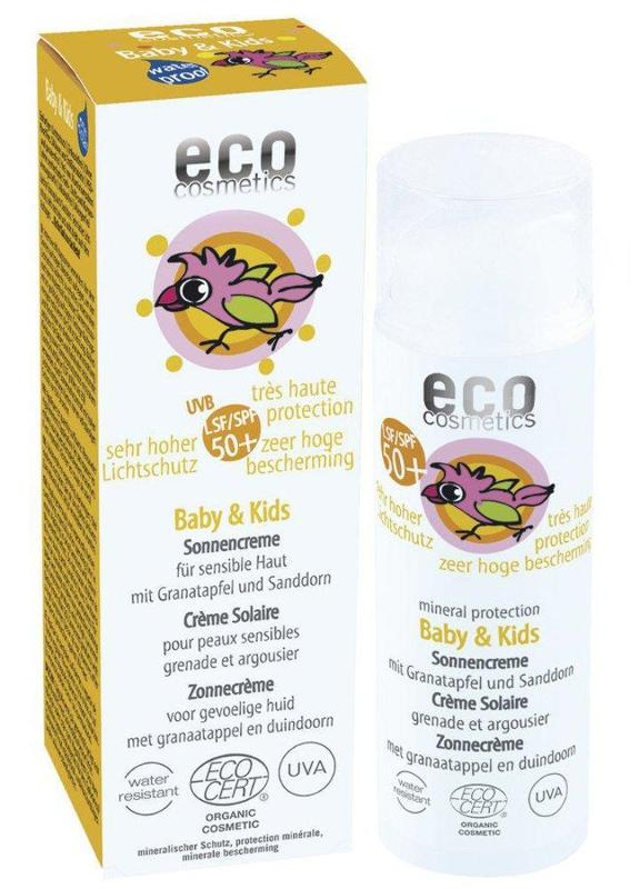 ECO Baby & Kids Sonnencreme LSF 50+ 50ml mit...