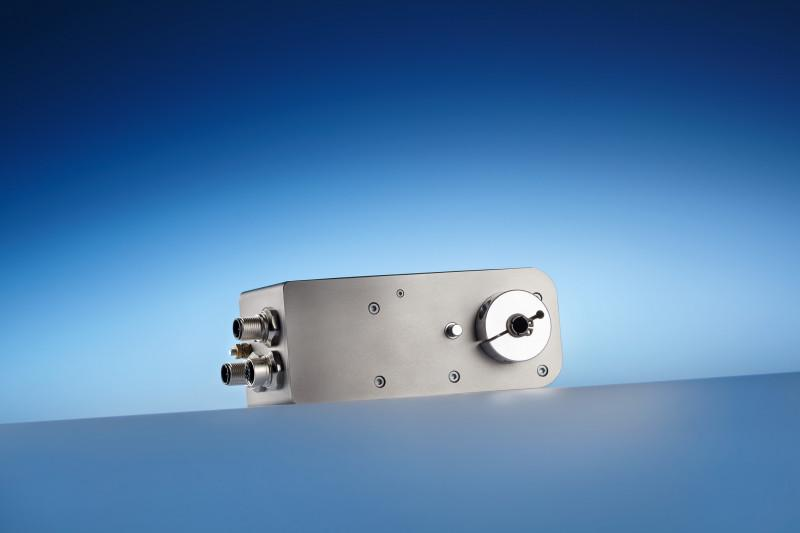 Positioning drive PSS 30_-8 - Positioning system with IP 65  for automated format changeovers in machines