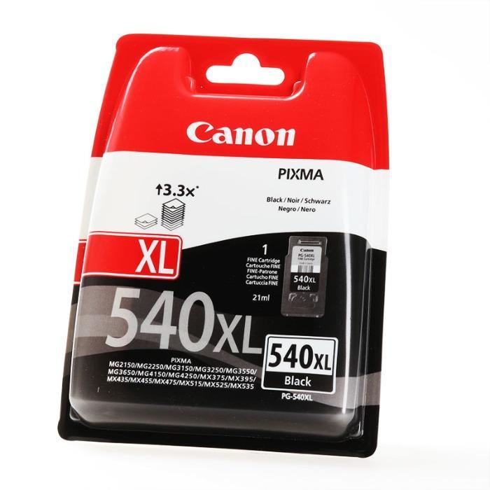 Canon orijinal sarf malzemeleri  - Toner No. 540XL siyah