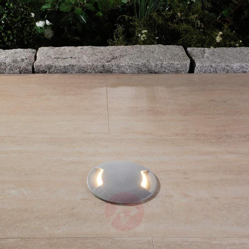 Traversable recessed floor light LED CECI 120-2 L - Recessed Floor Lights
