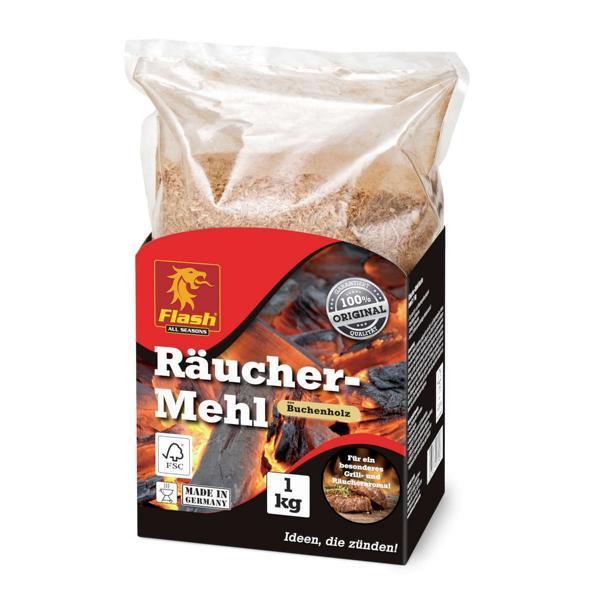 Räucher-Mehl Buche 1 kg FSC -