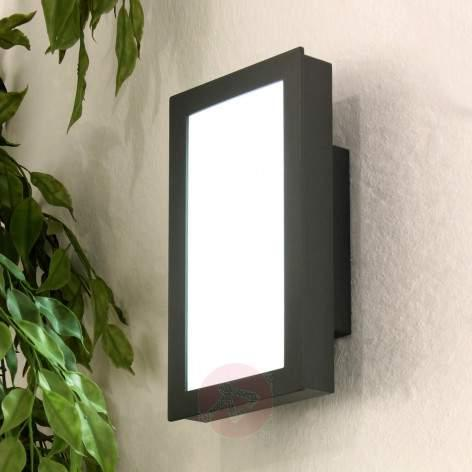 LED outdoor wall lamp MIRTEL stainless steel - stainless-steel-outdoor-wall-lights