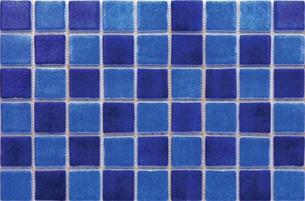 Modena F.116 Mix - 50x50x6,5mm Glass Mosaic Tile with SilyCord System