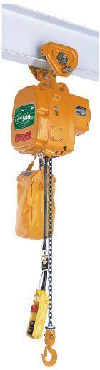 Palans électriques à chaîne - usage courant - Palan KITO EFLP (avec chariot à translation libre)