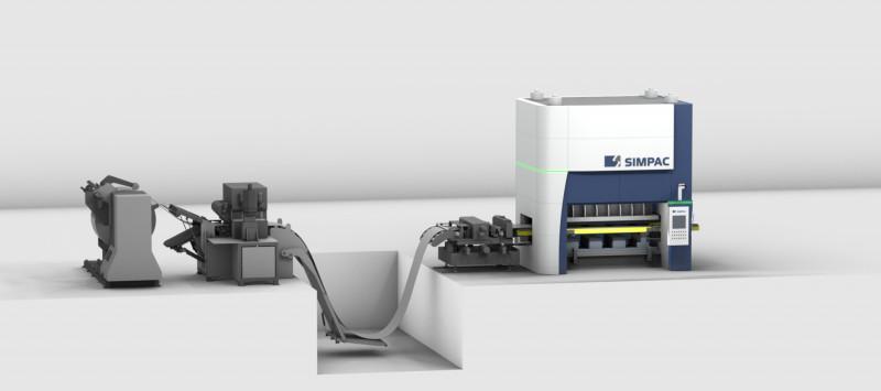 Servopressen_MX-Baureihe - Servopressen / 3.000-10.000 kN / Flexibel, dynamisch und effizient