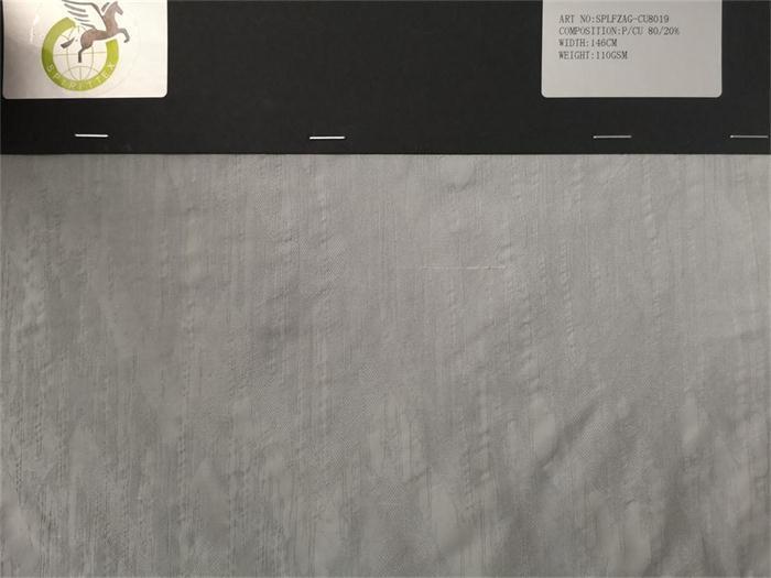 cuprammnion blend polyester fabrics - silky cotton hand feeling with nice jacquard desin