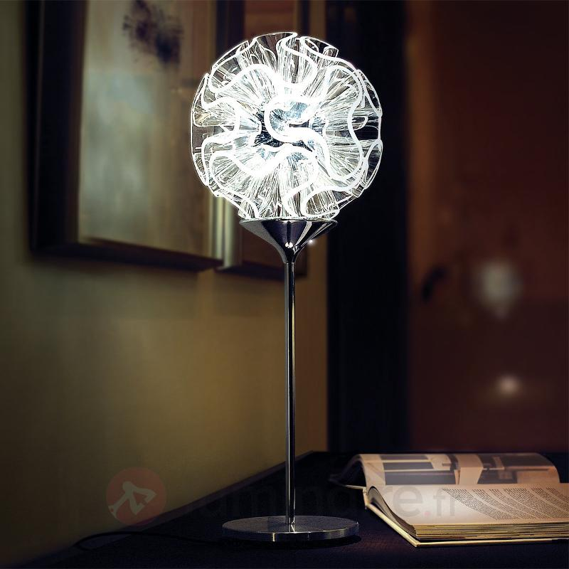 Coral - Lamoe de table design avec liseuse LED