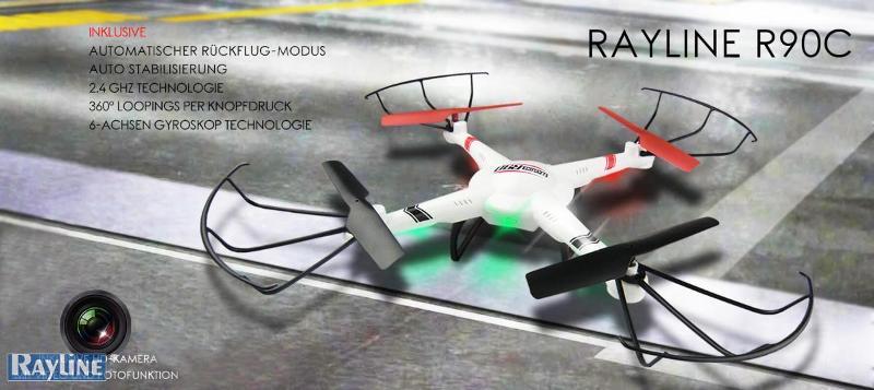 RC Ware anderer Hersteller RC Quadrocopter - R90C