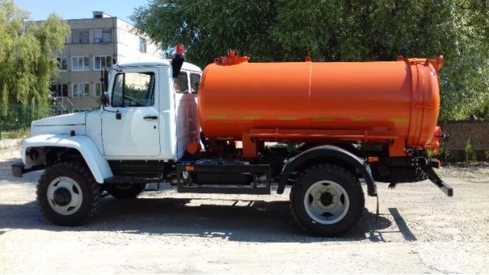 Vacuum truck MV -