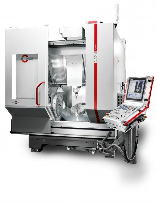 Machining Centre C 22 - The C 22 - a highly dynamic machining centre - flexible and compact