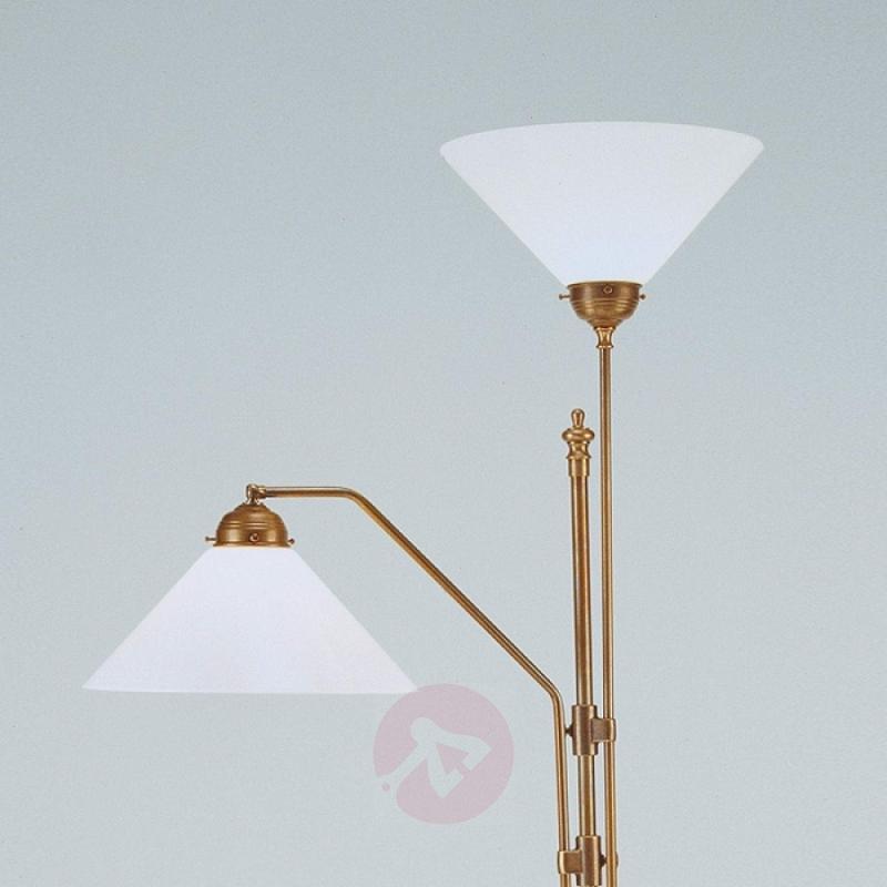 MATILDE floor lamp w/ uplighter and reading light - design-hotel-lighting