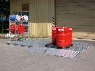 Plancher de rétention acier galvanisé - 280 litres - BRAG PL280 Bacs de rétention acier et plastique
