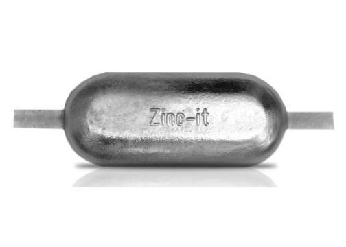 Ânodo de zinco para protecção catódica - Ânodos de casco N40
