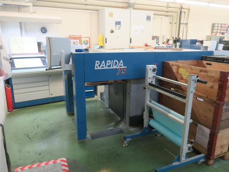 KBA RAPIDA RA 75-5 + L-ALV2 - Used Machine