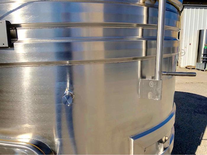 Tanque de aço inoxidável 304 - 40 HL - SPAIPSER4000B